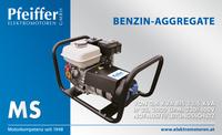 Benzin-Aggregat MS auf Grundrahmen - Zum Vergrößern klicken