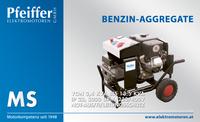 Benzin-Aggregat MS, einachsig - Zum Vergrößern klicken