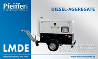 Diesel-Aggregat LMDE auf straßentauglichem Anhänger - Zum Vergrößern klicken