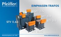 Einphasen-Transformatoren STT und STV - Zum Vergrößern klicken