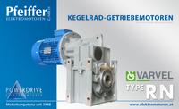 Kegelrad-Getriebemotor RN - Zum Vergrößern klicken