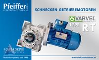 Schnecken-Getriebemotor RT - Zum Vergrößern klicken