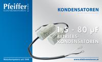 Betriebs-Kondensatoren - Zum Vergrößern klicken
