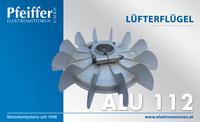 Lüfterflügel, Aluminium - Zum Vergrößern klicken
