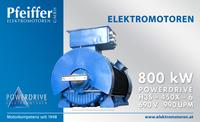 Powerdrive Elektromotor 800 kW | B3 - Zum Vergrößern klicken