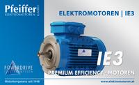 Powerdrive Elektromotor IE3, Premium Efficiency | B14 - Zum Vergrößern klicken