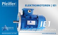Powerdrive Elektromotor IE1, Standard Efficiency | B5 - Zum Vergrößern klicken