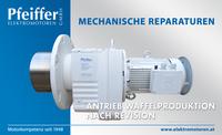 Alle mechanischen Reparaturen (hier abgebildet: Antrieb Waffelproduktion nach Revision) - Zum Vergrößern klicken