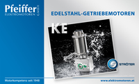 STROETER Edelstahl-Kegelstirnrad-Getriebe-Motoren KE on-duty - Zum Vergrößern klicken