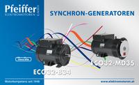 Abb.: Synchron-Generatoren ECO32 - Zum Vergrößern klicken