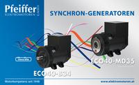 Abb.: Synchron-Generatoren ECO40 - Zum Vergrößern klicken