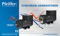 Abb.: Synchron-Generatoren ECO43 - Zum Vergrößern klicken