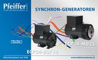 Abb.: Synchron-Generatoren ECP34 - Zum Vergrößern klicken