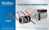 Abb.: Synchron-Generatoren S20W und S20F - Zum Vergrößern klicken