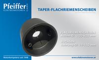 Taper-Flachriemenscheiben - Zum Vergrößern klicken