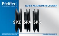 Taper-Keilriemenscheiben SPZ   SPA   SPB - Zum Vergrößern klicken