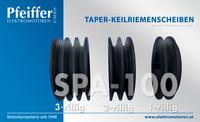 Taper-Keilriemenscheiben 3-rillig | 2-rillig | 1-rillig - Zum Vergrößern klicken