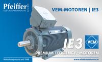 VEM-Motor IE3, Premium Efficiency, 355 kW - Zum Vergrößern klicken