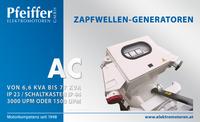 Zapfwellengenerator AC, Schaltkasten - Zum Vergrößern klicken